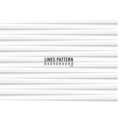 abstract seamless horizontal white lines with vector image