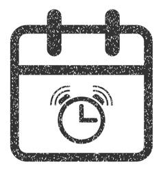 Alarm Day Grainy Texture Icon vector