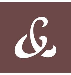 Ampersand vector