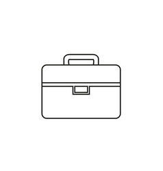 bag white of work icon vector image