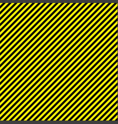Black yellow stripe seamless pattern background vector
