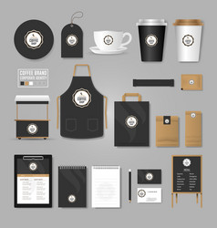 Corporate identity template logo concept for vector