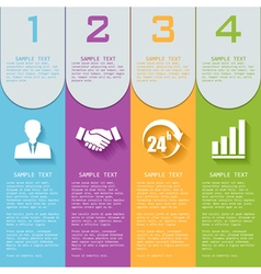 Elements for infographics vector