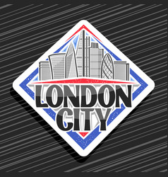 logo for london city vector image