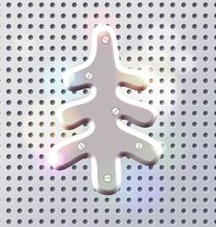 Original new year tech decoration vector image vector image