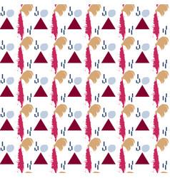 seamless brush stroke pattern vector image
