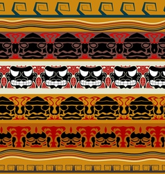 Tribal Indian pattern vector image