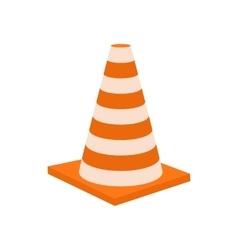 Traffic cone icon cartoon styl vector image vector image