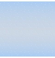 Rain drops seamless background vector image vector image