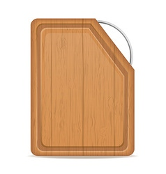 cutting board 07 vector image vector image