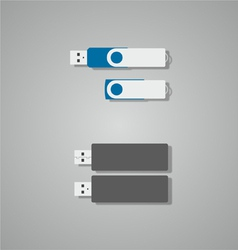 flash memory vector image
