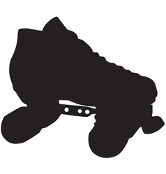 Skate Silhouette vector image vector image