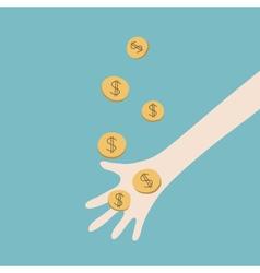 Money Catching vector image