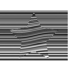 abstract distorted linear seamless pattern vector image