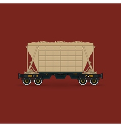 Hopper Isolated on Red Background vector