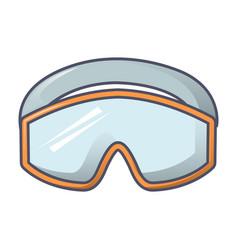 protect climb glasses icon cartoon style vector image