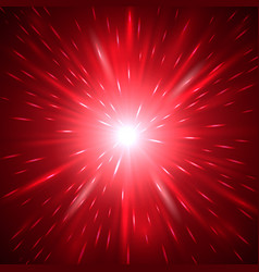 red abstract light background vector image