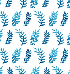 Seamless watercolour pattern vector