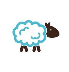 Sheep icon Farm animal vector