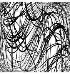 Texture scrawl wavy vector