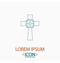 Tombstone computer symbol vector