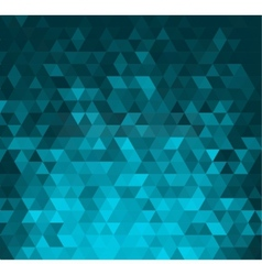 Abstract banner with triangle shapes vector image