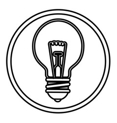 Big idea bulb symbol vector