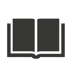 Book text open icon vector
