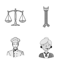 Justice finance and other monochrome icon in vector