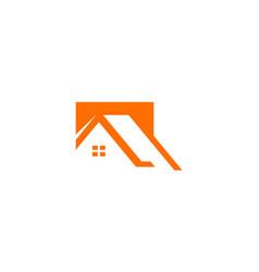 Roconstruction home logo vector