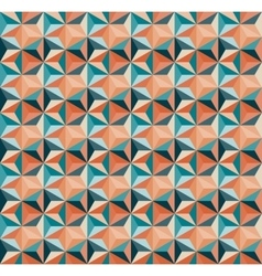 Seamless Geometric Triangle Tiling Pattern vector image