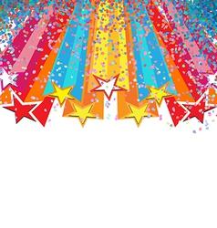 star festival vector image vector image