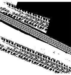 Grunge Tire Background vector image