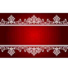 red and white background vector image vector image