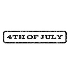 4th of july watermark stamp vector