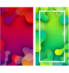 Backgrounds with abstract colorful pattern vector