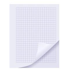Blank spiral notepad sheet element vector