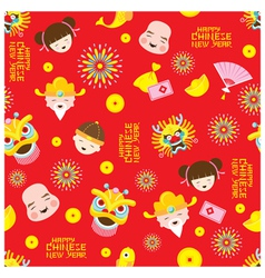 Chinese New Year Seamless Pattern vector