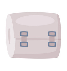 Elastic medical bandage first aid kit equipment vector