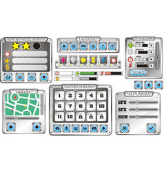 Game gui 6 vector