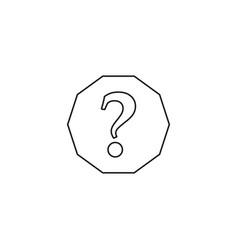 help line icon vector image