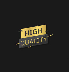 high quality label vector image