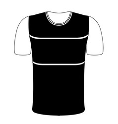 Isolated sport shirt icon vector