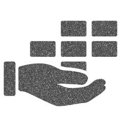 Service Schedule Grainy Texture Icon vector