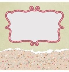 Valentines Copyspace Card vector image