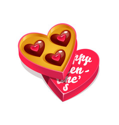 happy valentines day with vector image