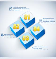 business square diagram vector image