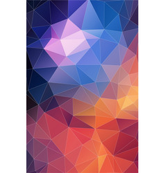 vertical triangle pattern abstract background vector image