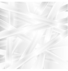 Abstract white stripes background vector
