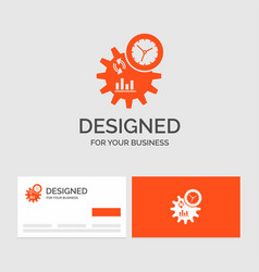Business logo template for business engineering vector